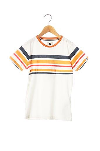 T-shirt manches courtes orange GARCIA pour garçon