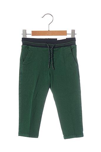 Pantalon casual vert MAYORAL pour garçon