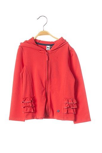 Veste casual orange 3 POMMES pour fille