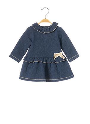 Robe mi-longue bleu MAYORAL pour fille