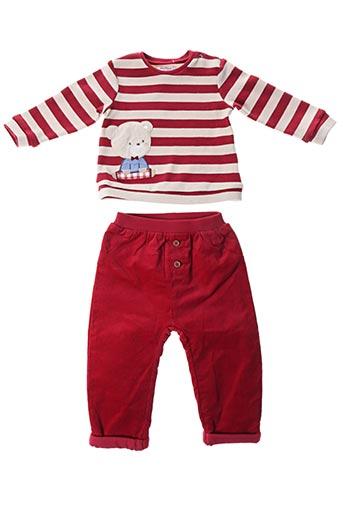 Pull/pantalon rouge MAYORAL pour enfant