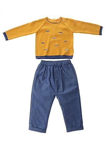 Pull/pantalon jaune MAYORAL pour garçon