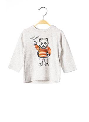 T-shirt manches longues gris MAYORAL pour enfant
