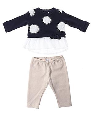 Pull/pantalon bleu MAYORAL pour fille