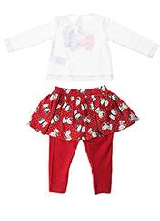 Top/pantalon rouge MAYORAL pour fille seconde vue