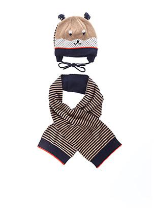 Bonnet marron MAYORAL pour garçon