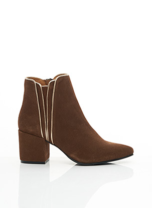 Bottines/Boots marron I.CODE (By IKKS) pour femme