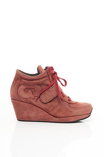 Baskets marron STEPHANE GONTARD pour femme