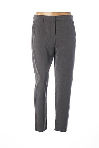 Pantalon casual gris B.YOUNG pour femme