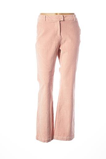 Pantalon casual rose B.YOUNG pour femme