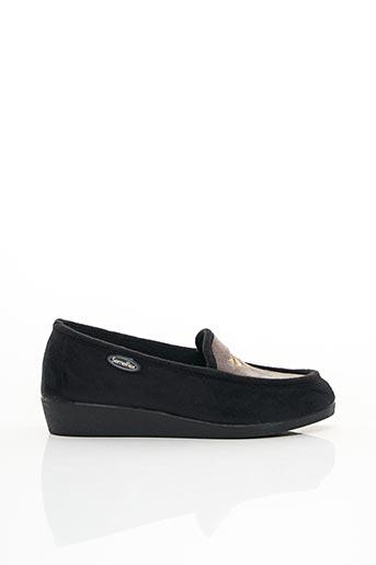 Chaussons/Pantoufles noir SEMELFLEX pour femme