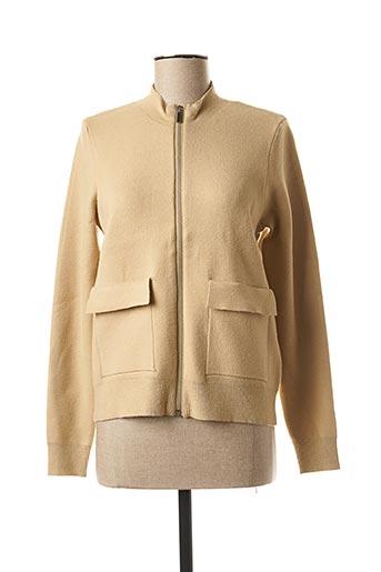 Veste casual beige MSCH COPENHAGEN pour femme