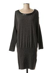 Robe pull gris LIU JO pour femme seconde vue