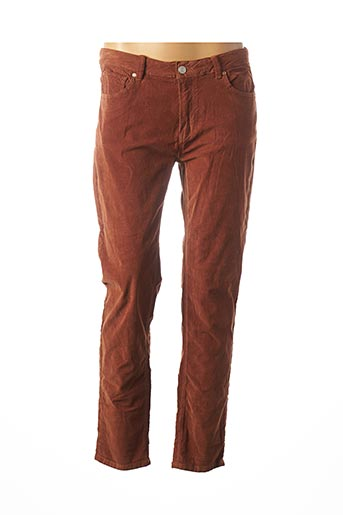 Pantalon casual marron MKT STUDIO pour femme
