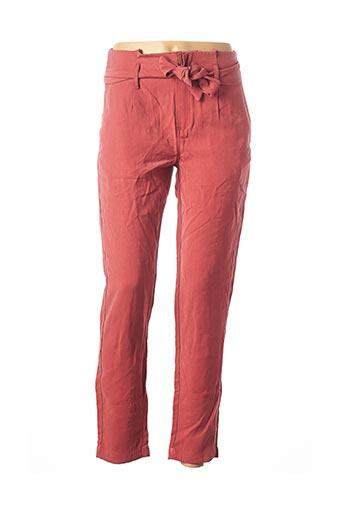 Pantalon casual rose BANANA MOON pour femme