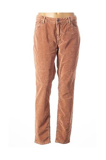 Pantalon casual rose YAYA pour femme