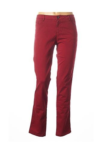 Pantalon casual rouge MAYJUNE pour femme