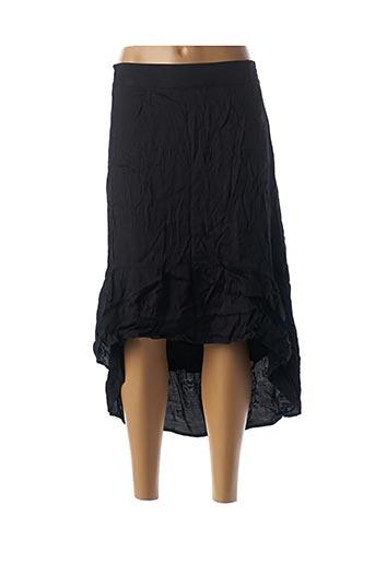 Jupe longue noir ALIX pour femme
