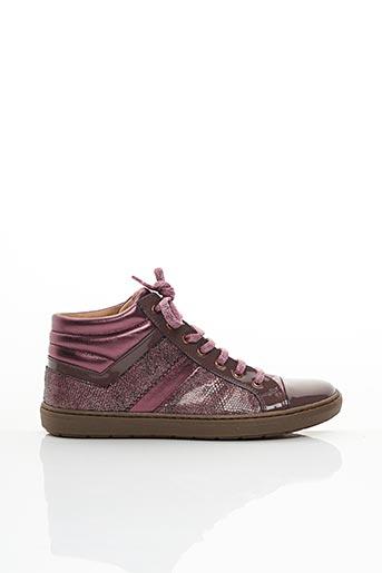 Baskets violet ROMAGNOLI pour fille