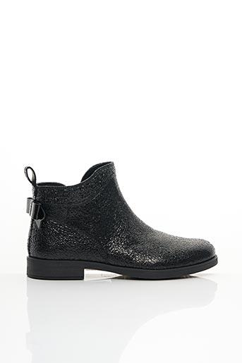 Bottines/Boots noir GEOX pour fille