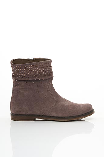 Bottines/Boots violet ROMAGNOLI pour fille