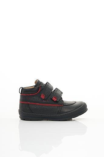 Bottines/Boots noir MOD8 pour garçon