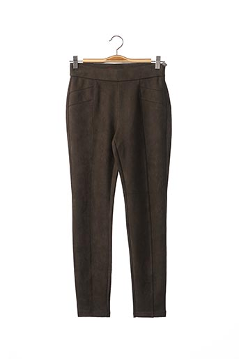 Pantalon 7/8 vert STREET ONE pour femme