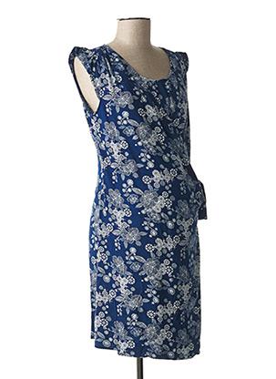 Robe courte bleu COLLINE pour femme
