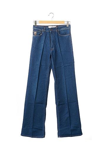 Jeans coupe large bleu APRIL 77 pour homme