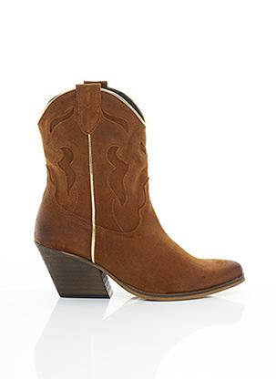 Bottines/Boots marron ALDO pour femme
