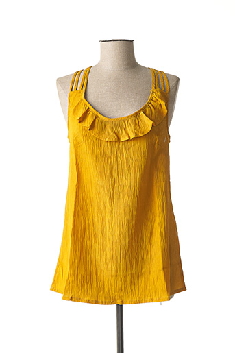 Débardeur jaune L33 pour femme