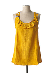 Débardeur jaune L33 pour femme seconde vue