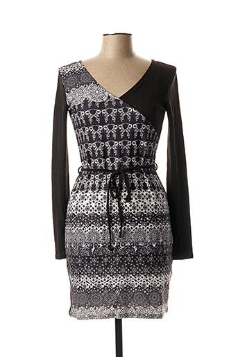 Robe pull noir COLINE pour femme