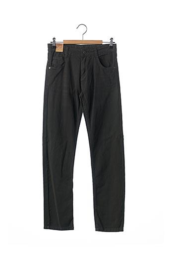 Jeans coupe droite vert KNOT SO BAD pour garçon
