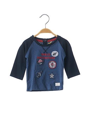 T-shirt manches longues bleu LEMON BERET pour garçon