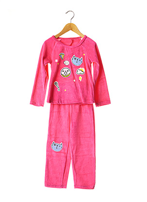 Pyjama rose LINA PINK pour fille
