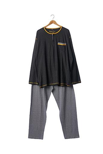 Pyjama gris CHRISTIAN CANE pour homme