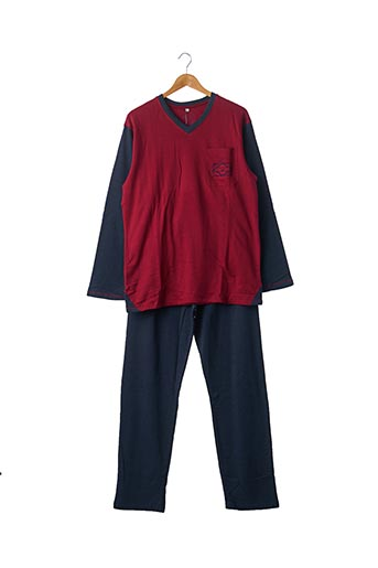 Pyjama rouge CHRISTIAN CANE pour homme