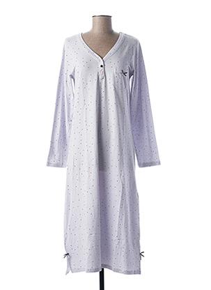 Chemise de nuit gris CHRISTIAN CANE pour femme