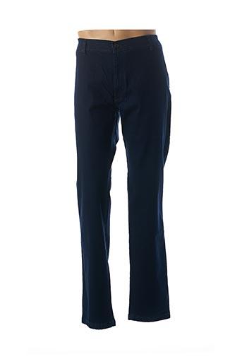 Jeans coupe droite bleu LCDN pour homme