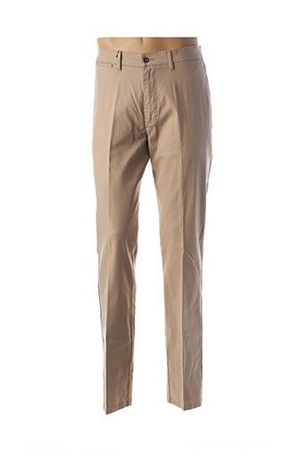 Pantalon casual beige LCDN pour homme