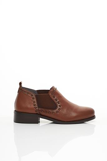 Bottines/Boots marron FOLIE'S pour femme