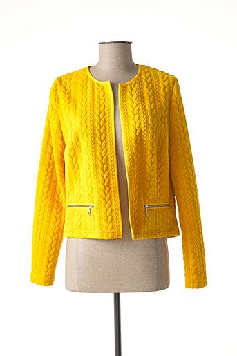 Veste casual jaune PAUPORTÉ pour femme