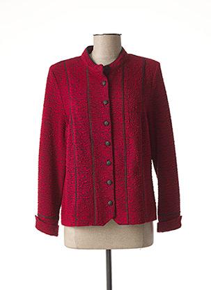 Veste casual rouge PAUPORTÉ pour femme