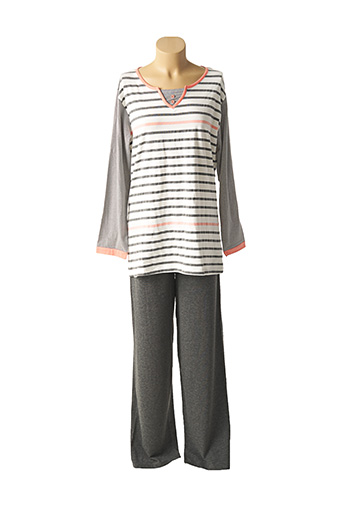 Pyjama gris EASY LIFE pour femme