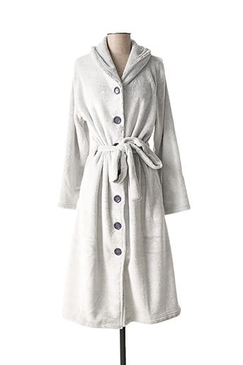 Robe de chambre gris ROSE POMME pour femme