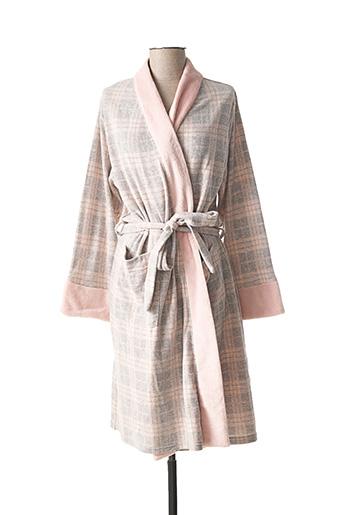 Robe de chambre rose CHRISTIAN CANE pour femme