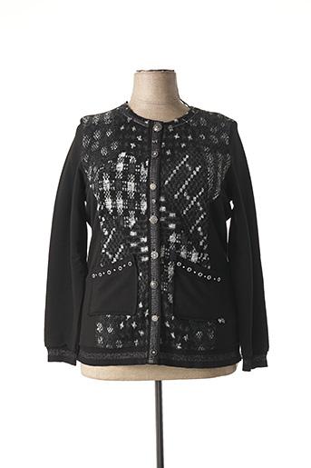 Veste casual noir MERI & ESCA pour femme