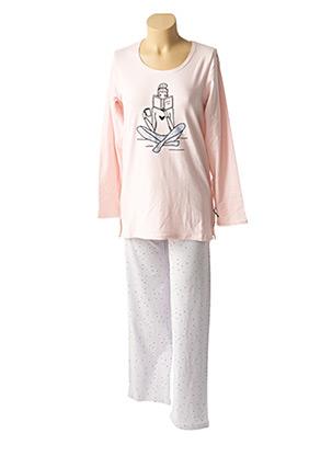 Pyjama rose CHRISTIAN CANE pour femme