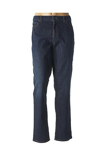 Jeans coupe droite bleu MERI & ESCA pour femme